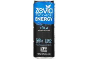 Zevia Zero Calorie Energy Kola