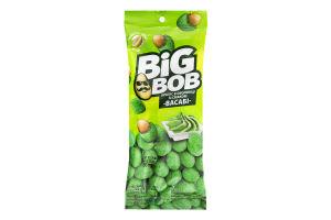 Арахис жареный соленый в хрустящей оболочке со вкусом васаби Big Bob м/у 60г