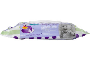 Always My Baby Baby Wipes Sensitive Unscented - 64 CT
