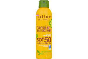Alba Botanica Hawaiian Sunscreen Clear Spray Coconut