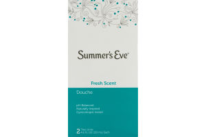 Summer's Eve Fresh Scent Douche - 2 CT
