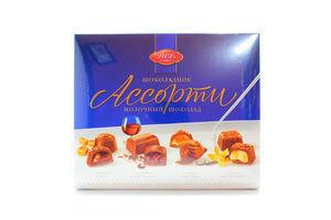 Цукерки АВК Асотрі молочний шоколад 220г х8