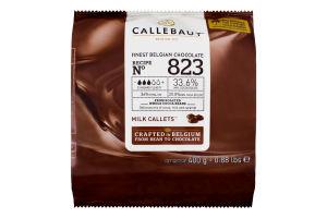 Шоколад 33.6% Milk callets Callebaut м/у 400г