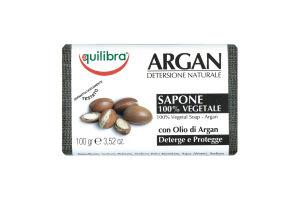 Мыло Equilibra с маслом арганы