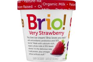 Brio! Dairy Dessert Very Strawberry