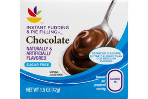 Ahold Instant Pudding & Pie Filling Chocolate Sugar Free