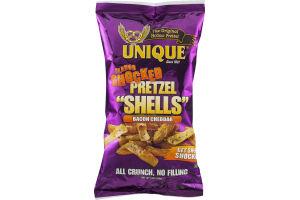 """Unique Flavor Shocked Pretzel """"Shells"""" Bacon Cheddar"""