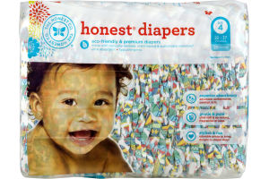 The Honest Co. Honest Diapers Elephant Party Size 4 - 29 CT