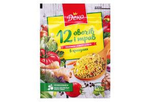 Приправа універсальна 12 овочів і трав Деко м/у 170г