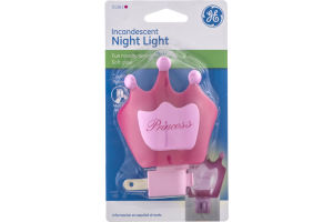 GE Incandescent Night Light Princess