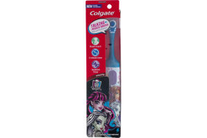 Colgate Talking Power Brush Powered Toothbrush Monster High Extra Soft