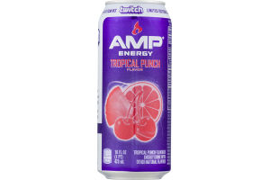 AMP Energy Drink Tropical Punch