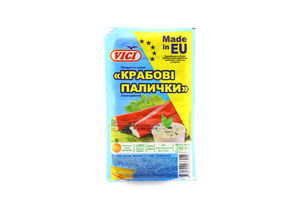 Крабовые палочки Сочные охлажденные Vici 240г