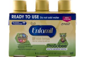Enfamil ProSobee Soy Infant Formula - 6 CT