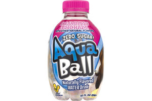 AquaBall Naturally Flavored Water Drink Strawberry Lemonade