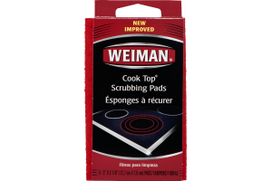 Weiman Cook Top Scrubbing Pads - 3 CT