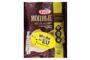 Пельмені Модерн курка-сир-гриби Vici 400г