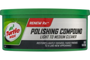 Turtle Wax Renew Rx Polishing Compound Light To Medium Cleaner