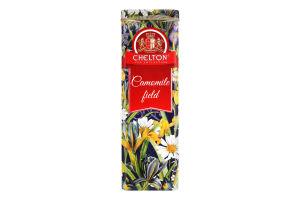 Чай черный цейлонский байховый крупнолистовой Camomile field Chelton ж/б 80г