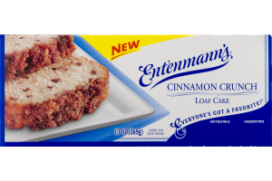 Entenmann's Cinnamon Crunch Loaf Cake