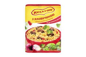 Вермишель быстрого приготовления на домашнем бульоне с говядиной Роллтон м/у 60г