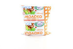 Молоко Молочна Слобода топленое 4% п/э 450г