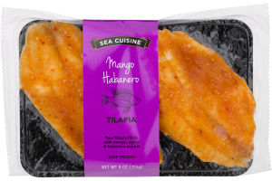 Sea Cuisine Tilapia Mango Habanero