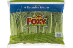 Foxy Fresh 6 Romaine Hearts