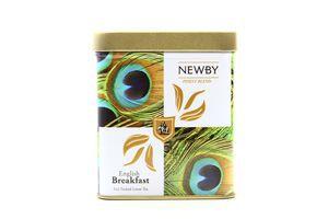 Чай Newby English Breakfast чорний байховий з/б 125г