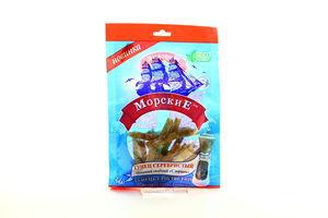 Тунец серебристый солено-сушеный с перцем филе-соломка Морские м/у 36г
