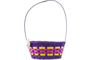 Smart Living Traditional Bamboo Easter Basket
