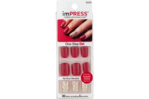 imPRESS Press-On Manicure One-Step Gel Tweetheart - 30 CT