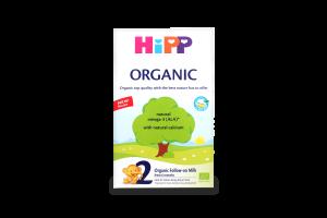 Суміш для дітей від 6 до 12міс молочна суха Organic 2 Hipp к/у 300г