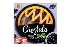 Пиріг пісочний Черна смородина Crostata Бісквіт Шоколад к/у 370г