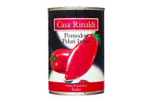 Томаты очищенные в собственном соку Casa Rinaldi ж/б 400г