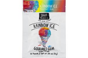 Project 7 Gourmet Sugar Free Gum Rainbow Ice