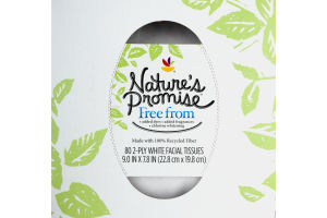 Nature's Promise Facial Tissues - 80 CT