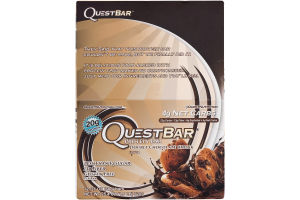 QuestBar Protein Bar Double Chocolate Chunk - 12 CT