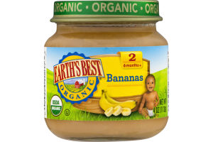 Earth's Best Organic Stage 2 Bananas