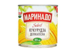 Кукуруза деликатесная Select Маринадо ж/б 340г