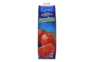 Сок томатный с солью Sandora т/п 0.95л