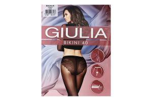 Колготки жіночі Giulia Bikini 40den 3-M nero