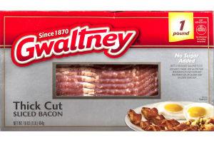 Gwaltney Sliced Bacon Thick Cut