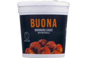 Buona Marinara Sauce With Meatballs