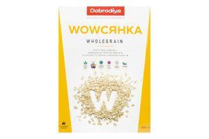 Пластівці вівсяні з цільного зерна Wholegrain Wowсянка Dobrodiya к/у 500г