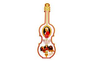 Конфеты шоколадные Mozart Geige Reber к/у 140г