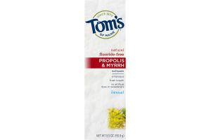 Tom's of Maine Propolis & Myrrh Toothpaste with Fluoride Fennel