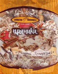 Пряники Фігурні Запорізькі Київхліб м/у 420г