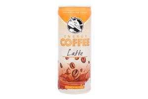 Кофе холодный с молоком Latte Hell Energy Drink ж/б 250мл