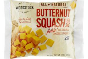 Woodstock All Natural Frozen Diced Butternut Squash